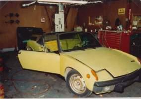 1st Car 1972 Porsche 914 1987 01