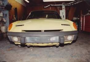 1st Car 1972 Porsche 914 1987 02